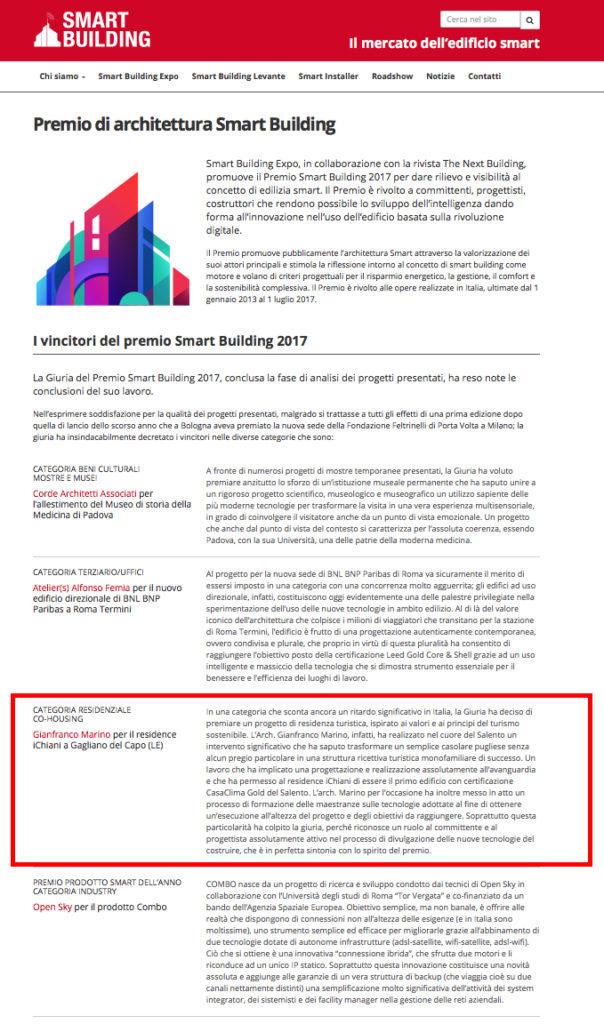Premio SmartBuilding